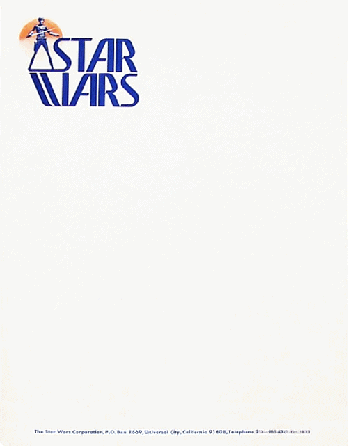 The Star Wars Corporation, 1976
